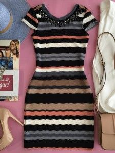 Swans Style is the top online fashion store for women. Shop sexy club dresses, jeans, shoes, bodysuits, skirts and more. Casual Dress Outfits, Girly Outfits, Stylish Dresses, Sexy Dresses, Stylish Outfits, Nice Dresses, Fashion Dresses, Casual Street Style, How To Look Classy