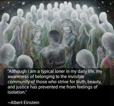 Loner who belongs Spiritual Awakening, Spiritual Quotes, Wisdom Quotes, Me Quotes, Loner Quotes, Citation Einstein, Albert Einstein Quotes, Great Quotes, Inspirational Quotes
