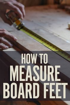 How to Easily Calculate Board Feet This is a simple rule and the math can be done on the calculator in your phone. You can even ask Siri to do it for you. Make sure you bring your tape measure that you know is reliable to the lumberyard. Woodworking Furniture, Woodworking Bench, Fine Woodworking, Woodworking Projects, Woodworking Patterns, Garage Workshop, Workshop Ideas, Wood Plans, Diy Wood Projects