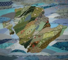 Josie Russell - Ynys Mon - textile art