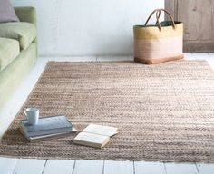 Loaf's Trumps rug has the strength of jute and softness of wool.