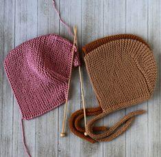 Pattern Baby Bonnet Knit Hat Pattern Knitting Patterns Knit | Etsy Knit Beanie Pattern, Baby Hat Knitting Pattern, Baby Hats Knitting, Easy Knitting Patterns, Knitting Blogs, Knitted Hats, Pattern Baby, Bonnet Pattern, Baby Patterns