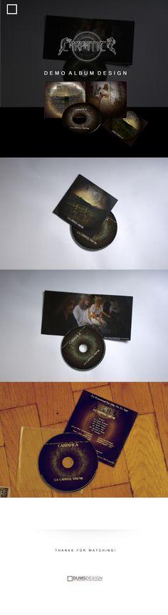 "Carpatica - ""La capatul vremii"" Album design on Behance"