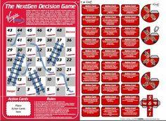 Board game printies photo: Virgin Blue Board Game virgingame.jpg