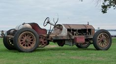 1915 American LaFrance Speedster - original condition 802 ci , 105 hp engine w/ dual chain drive.