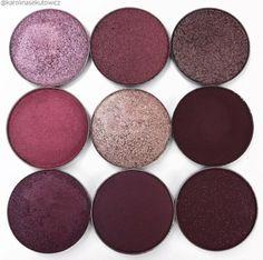 Anastasia Beverly Hills: Deep plums and purples 💜🍇 From left to right: Makeup Goals, Makeup Inspo, Makeup Tips, Beauty Makeup, Eye Makeup, Makeup Products, Makeup Geek, Makeup Tutorials, Makeup Addict