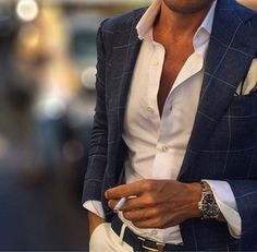 Don't dress to impress , Dress to undress Mode Masculine, Sharp Dressed Man, Well Dressed Men, Terno Slim, Casual Wear, Men Casual, Look Blazer, Herren Outfit, Fashion Moda
