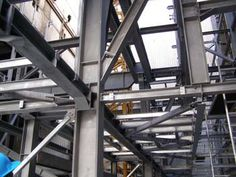 Steel structures for waste incinerator plant in Brno, Czech Republic