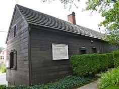 George Washington's Office, Winchester, Virginia  http://www.winchesterhistory.org/george_washington.htm