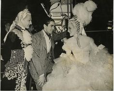 Tyrone Power and Norma Shearer in Marie Antoinette