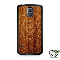 Mandala Wood Design Samsung Galaxy S5 Case
