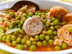 treccia con piselli #ricettedisardegna #cucina #sarda #sardinia #recipe