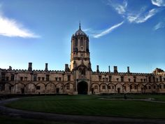 Oxford University in Oxford, Oxfordshire -- my dad might know someone here! :D