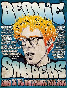 Bernie Sanders Road To The Whitehouse Tour 2016