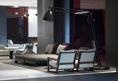 Sofas for Lounge at Modern Sophistication Met Hotel in Thessaloniki by Zeppos Georgiadi Architects