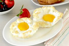 HG's Healthy Cloud Eggs Recipe