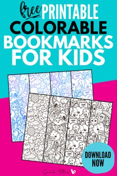 Download these free printable colorable bookmarks for kids to help encourage your kids to read. Your kids will love coloring these bookmarks and then using them in their favorite books! Grab these free printable bookmarks here! #bookmarks #coloringpages #printablebookmarks #reading #kidsprintables #sarahtitus #sarahtitusprintables Free Printable Bookmarks, Bookmark Template, Bookmarks Kids, Free Printables, Colouring Pages, Printable Coloring Pages, Blank Calendar Pages, Calendar Printable, Coloring For Boys