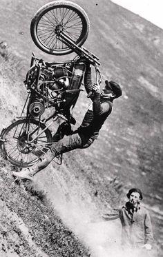 Harley hill climb