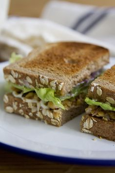 pack a picnic: smashed chickpea salad sandwiches. – Reading My Tea ...
