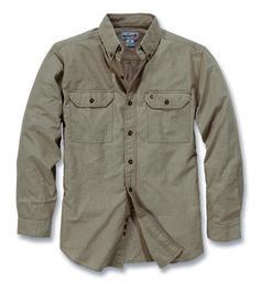 7b162f1920 Freizeithemd Long-Sleeve Chambray Shirt
