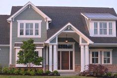 Pretty front door/porch/pillars