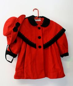 Rothschild Girls 2-6X Toddler Coat with Velvet Bows: Amazon.com ...