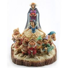 The One That Started Them All-Wood Carved Snow White Figurine