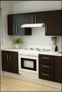 Cocina genova 240 cm con 8 puertas 3098693 coppel for Cocinas integrales para apartamentos pequenos