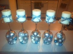 I made these tonight for our WInter Wonderland Holiday Party :)