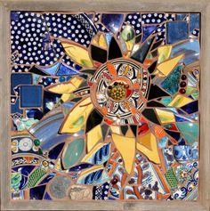 "Wall Art from ""Custom Mosaic Tile"""