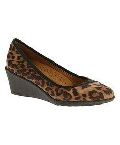 Love this Hush Puppies Leopard Sabrina Rowley Wedge by Hush Puppies on   zulily!   · Hush Puppies Shoes WomenCasual ... 2d6c3fd08e04
