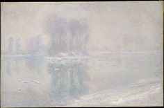 Ice Floes - Monet