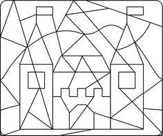 hrad omalovánky - Hledat Googlem