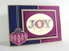 12 Days of Christmas - Day 7. I love this card SO much. Visit Marelle's blog to see it in its full glory.