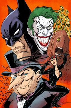 BATMANS by ~ColtNoble