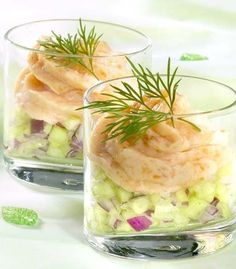 Tested and delicious recipe for cucumber and smoked salmon mousse Easy Cooking, Cooking Recipes, Snacks Für Party, Happy Foods, Appetisers, What To Cook, High Tea, Finger Foods, Appetizer Recipes