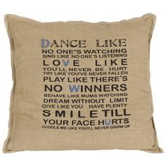 Vintage Cushion Hazel