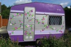 I want to paint my lil rv like this :-)