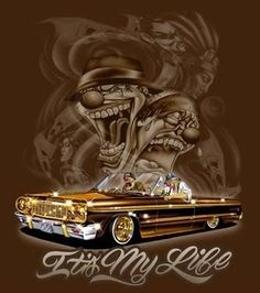 lowrider drawings pictures | LOWRIDER ART - Cool Graphic