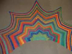 With a lovely shape and in bright colors, almost resembling a rainbow, this pattern is beautiful and much easier than you may expect. The Rippled Wrap by Cheri McEwen works up gorgeously in all sorts of different yarns and it's easy to adjust the pattern to make a variety of sizes and in different yarn …
