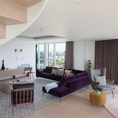 Herinrichting van een penthouse woonkamer | Inrichting-huis.com