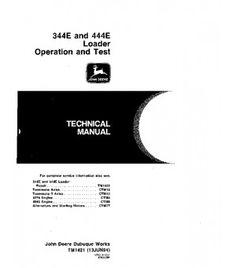 John deere 310sg 315sg backhoe loader technical manual pdf repair john deere 344e 444e wheel loader operation and test service technical manual tm1421 fandeluxe Image collections