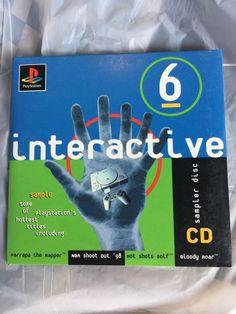 PlayStation 1 PS1 Interactive Sampler Disc CD Volume 6 Brand New SEALED RARE   eBay