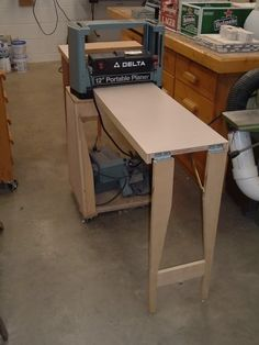 Mobile Planer Stand