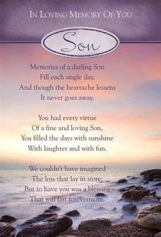 short memorial quotes for son Son Poems, Grief Poems, Memorial Cards, Memorial Poems, Remembrance Poems, Short Memorial Quotes, In Loving Memory Quotes, Birthday In Heaven, Sons Birthday