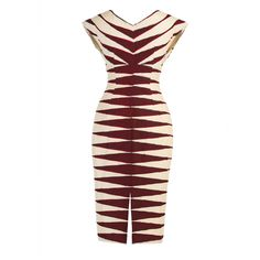 Massai Dress blood stripes - Last Season - Online Shop - Lena Hoschek Online Shop