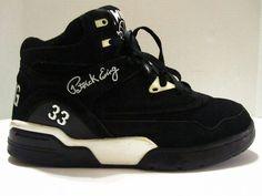 patrick ewing 33 hi  basketball sneakers 1ew90055-018 mens size 9.5  suede  #PatrickEwing #BasketballShoes