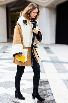 FWAH2016 Street looks à la fashion week automne-hiver 2016-2017 de Londres 20