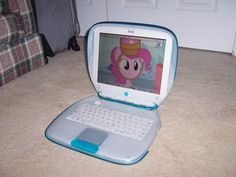 My Blueberry iBook Clamshell! #Apple #Computers #Laptops #iBook #Clamshell #PowerPC