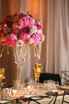 Vibrant Pink Wedding in Mobile, AL: Cherise + Jacob